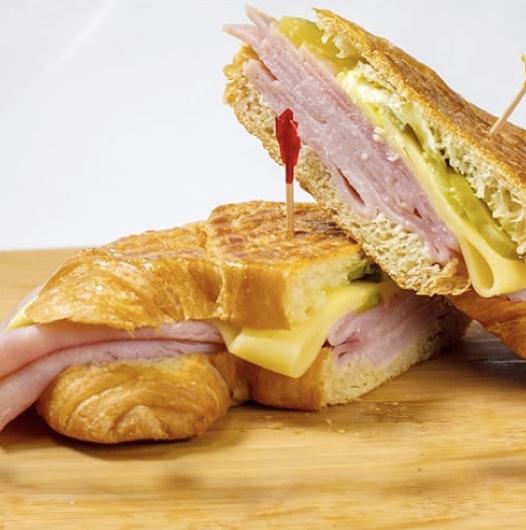 Karla - Ham & Cheese Croissant